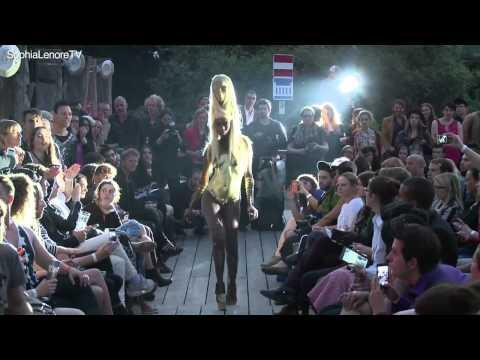 Berlin Fashion Film Festival - Charlie le Mindu Gold Sabah Haute Coiffure - 2013 [collaboration]