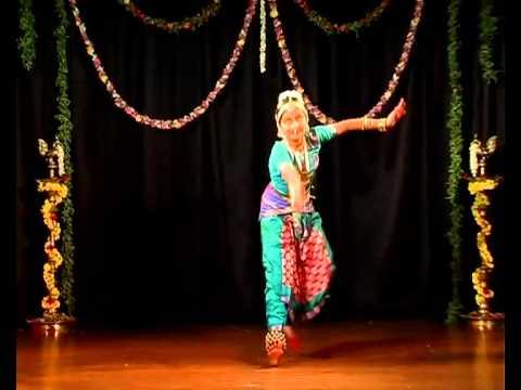 Anushri - Salangai Poojai - Jathiswaram - Vasantha video