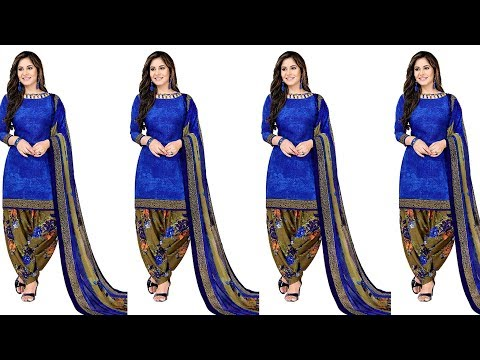 Latest Punjabi Salwar Suits Designs for Women / Ladies / Girls || New Dress Materials