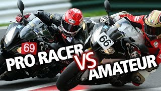 How much faster is a professional motorcycle racer? | BikeSocial
