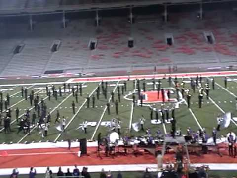 Bloomington High School-U of I band Championships 2012