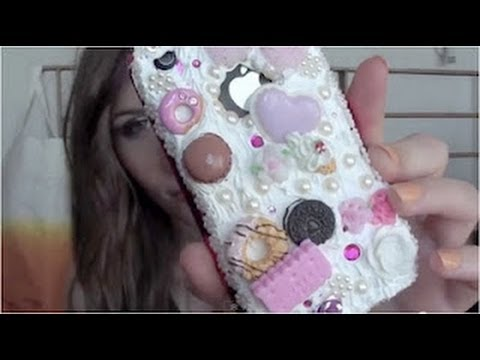 Tutoriel - DIY : Customizer son téléphone portable / Decoden #1