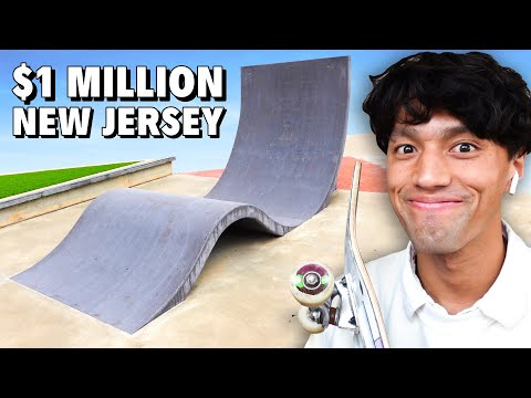 This INSANE New Jersey Skateparks Only Cost $1 MILLION DOLLARS