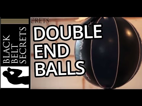 Double End Bag / Ball - How to fit and use a double and ball for punching and martial arts training Image 1