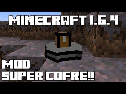 Minecraft 1.6.4 MOD SUPER COFRE!