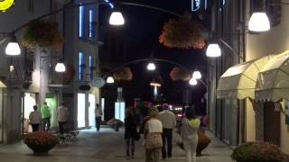 Italy city at night 8 - Saint Vincent by night - extracts - 2013