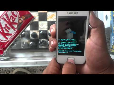 Android: Unroot Galaxy Ace