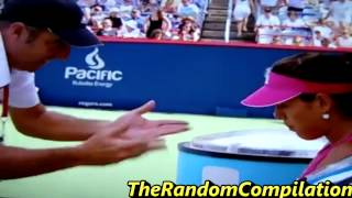 Drama In Women Tennis Compilation Part 2