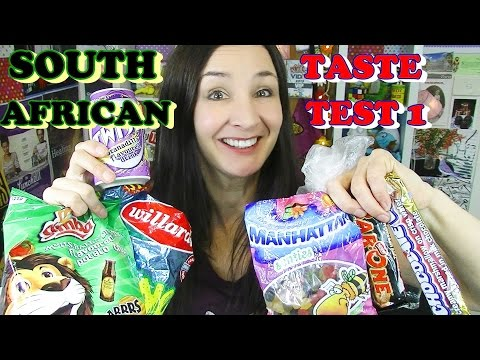 South African Candy Taste Test 1