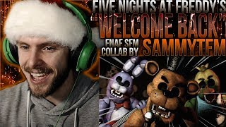 "Vapor Reacts #769 | [SFM COLLAB] FNAF SONG ANIMATION ""Welcome Back"" by SammyTFM REACTION!!"