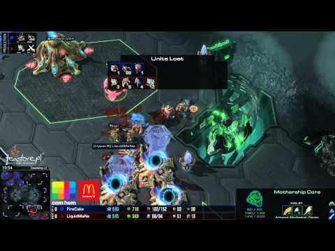 ZvP - Firecake vs Mana - Deadwing - Starcraft 2 HD polski komentarz