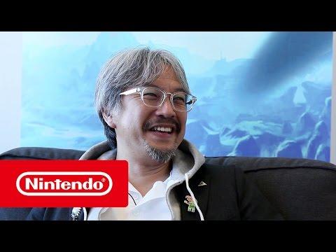 Supersnelle vragen met Eiji Aonuma