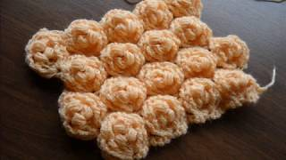 "CROCHET ""ROSE CORE"" / ""NÚCLEO DE ROSA"""