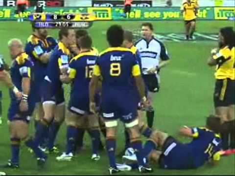 Super Rugby 2011- Round 1- Hurricanes vs Highlanders