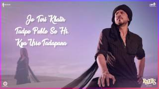 download lagu Zaalima Song   Poster 1  Raees  gratis