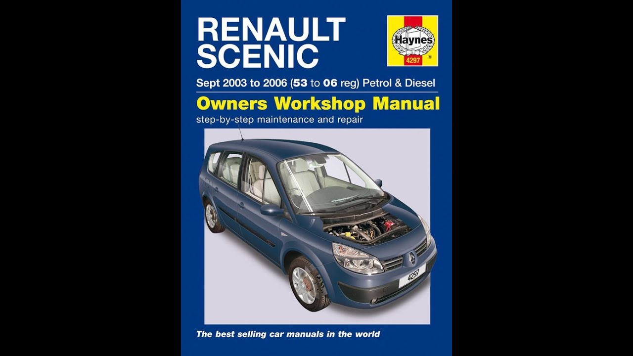 Free Renault Scenic 2 Repair Manual - Grand Scenic Haynes Workshop Download