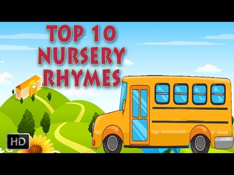 The Wheels On The Bus, Baa Baa Black Sheep.... Top 12 Kids Nursery Rhymes video