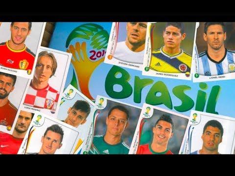 Album Lleno Panini Mundial Brasil 2014