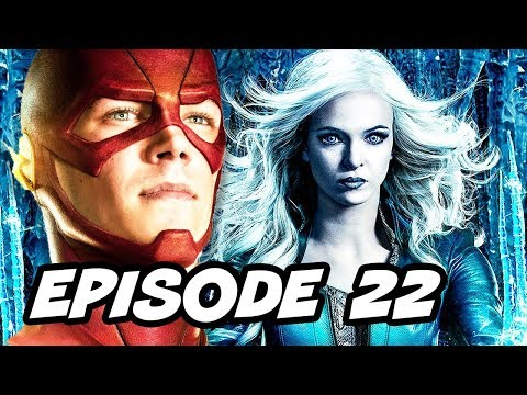 The Flash Season 2 Episode 22 - TOP 10 WTF and Easter Eggs