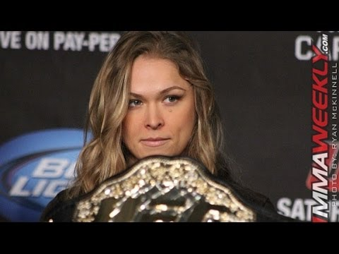 Ronda Rousey Says She Wants the Belt More Shes Willing to Die For It