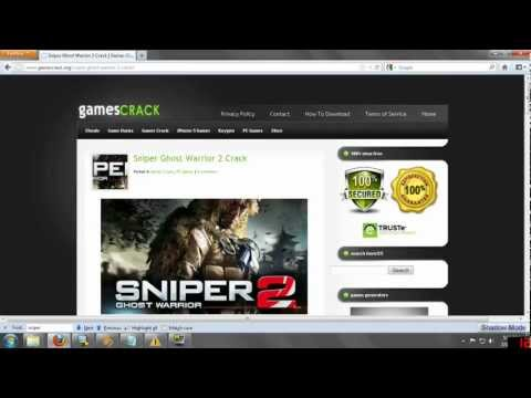 Sniper Ghost Warrior 2 Crack - Tutorial