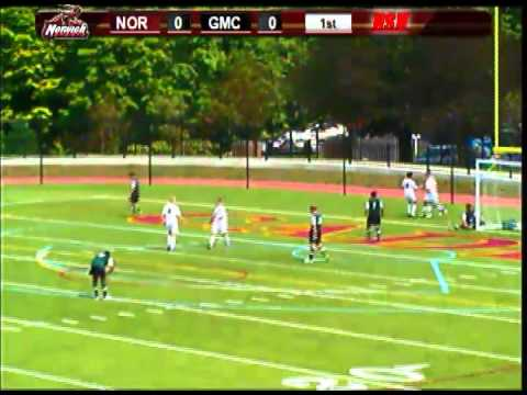 Green Mountain at Norwich Men's Soccer Highlights