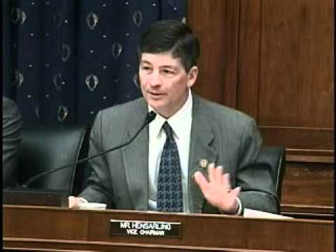 Rep. Hensarling Questions Secretary Geithner on the Options in the Treasury Report