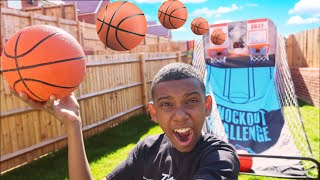 BEST TRICKSHOT WINS $$$ - Basketball Challenge