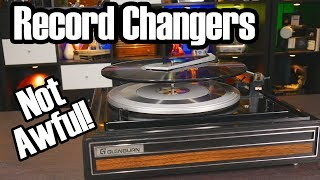 Automatic Record Changers: We used to like them