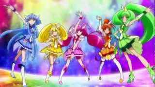 Smile Precure! Group Transformation!