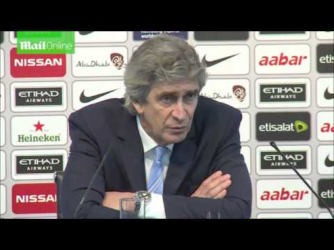 Manchester City 3-1 Everton: Manuel Pellegrini Post Match Interview Capital one cup 2016