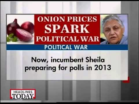 Rising onion prices spark political war-2