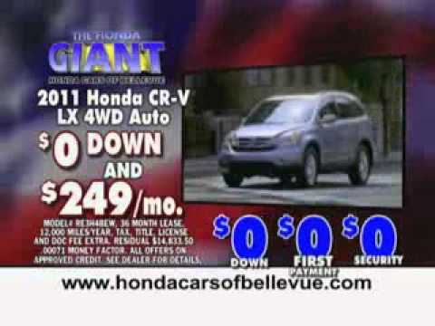 President's Day Sale New Car Commercial 2 at Honda Cars of Bellevue