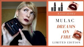 Dreams On Fire by Mulac Cosmetics - Swatch, Tell  & Dupe ...