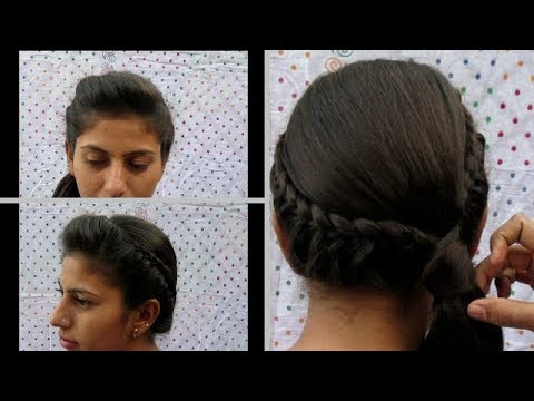 5 MIN EASY SIDE BRAIDED HAIRSTYLE || DISHA PATANI HAIRSTYLE