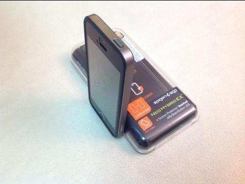 Protector Neo Hybrid EX Slim iPhone 5 de Spigen SGP