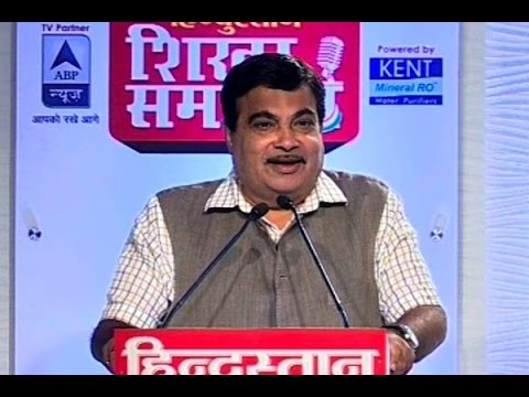 I will transform physical toll booths into e-toll booths: Nitin Gadkari in ABP News' Shikh
