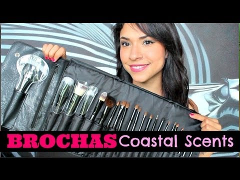 Review   Todo sobre brochas ♥ Brochas Coastal Scents ♥ Shelby Ruiz M