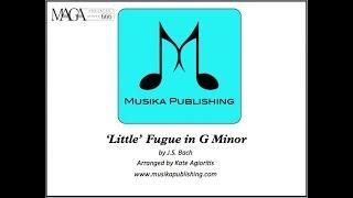 39 Little 39 Fugue In G Minor J S Bach Saxophone Quartet