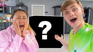 THIS ALMOST MADE HER CRY!! (SURPRISING LIZ)