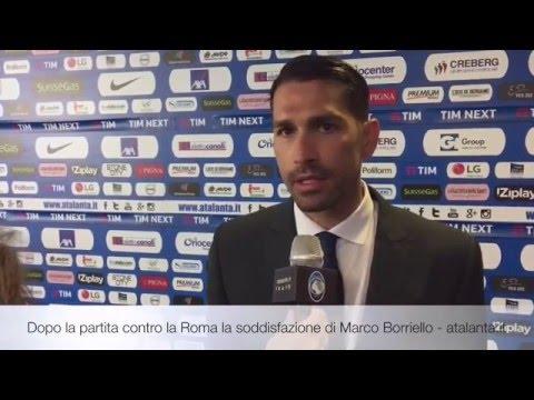 Marco Borriello post match: Atalanta vs Roma