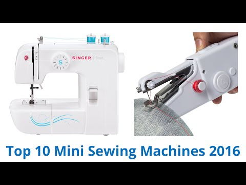 10 Best Mini Sewing Machines 2016