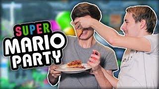 LINK DUWT PIZZA IN MIJN GEZICHT! | Super Mario Party met LinkTijger, Joost en Pascal