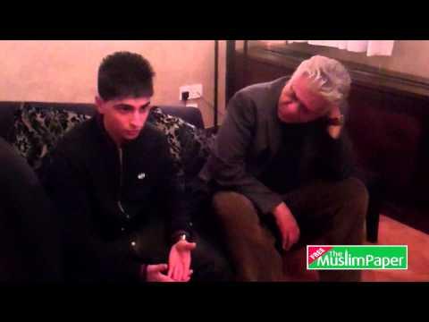 Rumki Chowdhury interviews Om Puri, Aqib Khan and Ayub Khan-Din