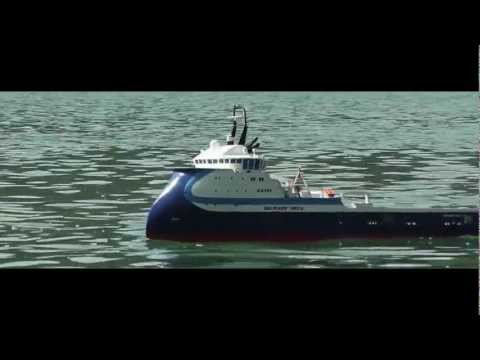 RC Ship - Bourbon Orca - Anchor Handling Tug Supplier