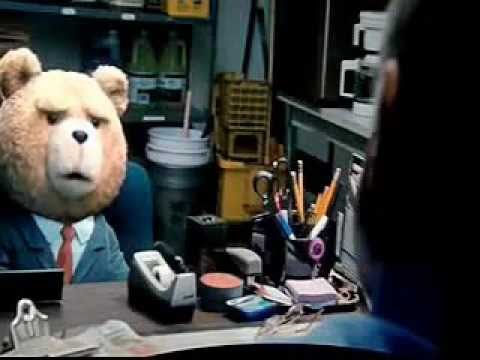 FUNNY Job interview scene from Ted 2012