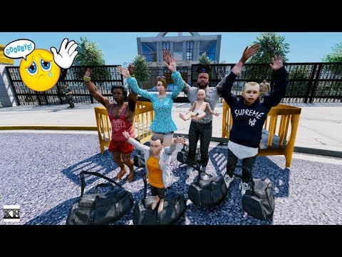 GTA 5 REAL LIFE MOD SS6 #12 MOVING OUT OF THE MANSION 😢