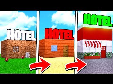 DE HOTEL NOOB A HOTEL PRO NO MINECRAFT !