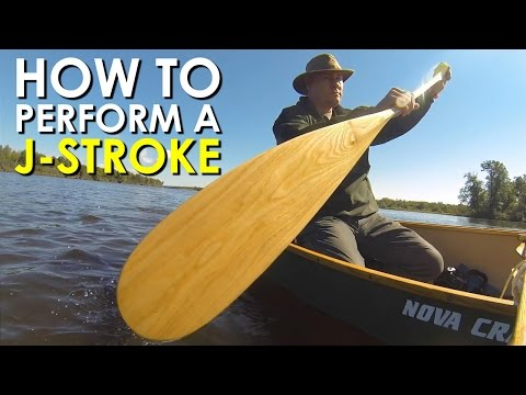 How to Paddle a Canoe: The J-Stroke | Art of Manliness