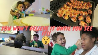 YOU WONT BELIEVE WHAT I CAUGHT OUR SON DOING ON CAMERA (SHOCKING) | COOKING WITH MAMA